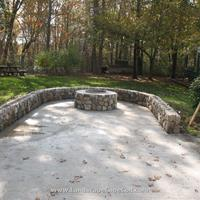 Click to view album: Travertine Patio and Fire Pit