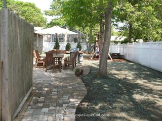 New Patio and Lawn