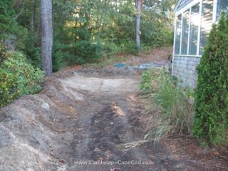 Paver Patio Construction - Bucks Creek Road, Chatham