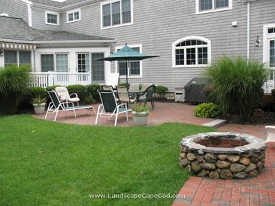 Click to view album: Patio and Stone Fire Pit