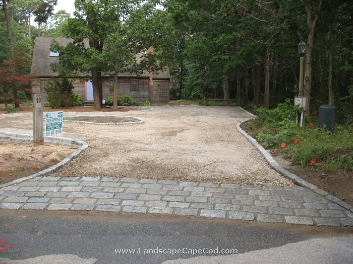 Viewing Album: Driveway Edging and Apron