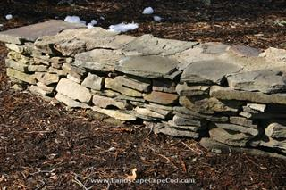 Damaged Stone Wall