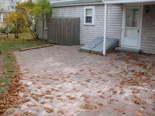 Interlocking Paver Patio