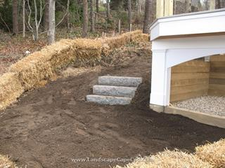Chatham Retaining Wall, Drainage System and Propane Gas Tank Pit