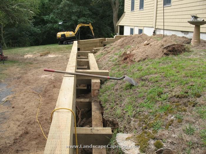 Viewing Al Timber Retaining Walls